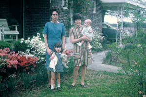 Banma, Mom, Me & Cathy, 1969